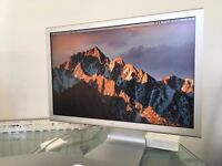 """Apple Widescreen TFT LCD Cinema Display 20"""" with Thunderbolt Adapter"""