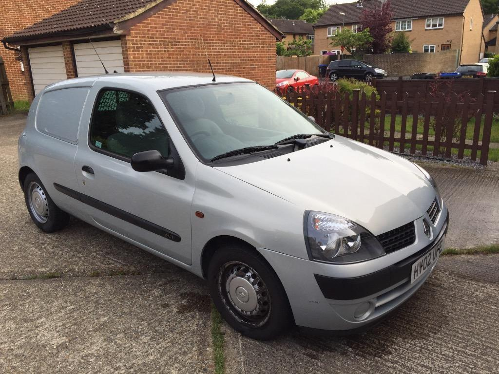 renault clio 1 5 dci van in woking surrey gumtree. Black Bedroom Furniture Sets. Home Design Ideas