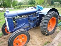 Fordson n tractor for sale.needs tidying up but runs ok.