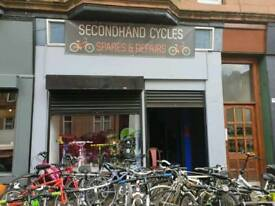 Second hand bike shop