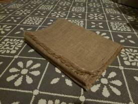 10 x Hessian table runners (6.5ft)