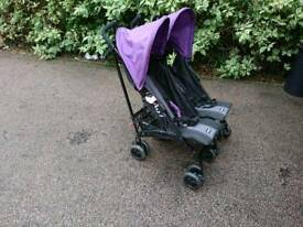 oBaby Double Buggie / Pushchair