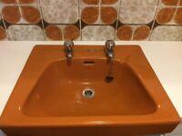 Retro Toilet and sink