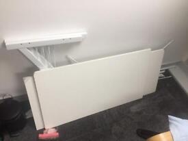 Genuine Piranha Zander Compact Corner Computer Desk with Shelf PC27s
