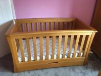 Mamas and papas ocean cot bed