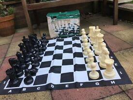 Classic Garden Games - Giant Chess set