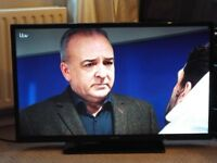 40 inch Full HD LED TV Built In Freeview USB Playback
