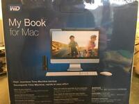 WD My Book for Mac 3TB EMEA Hard Drive Brand New Sealed in Box