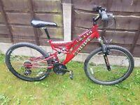 Sabre Delta Full Suspension Mountain bike
