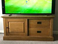 Next Oak TV stand unit