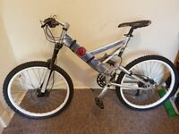 fully alloy mountain bike custom build. any questions just txt