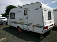 2001 Eliddis Hurricane GT 2 birth Caravan