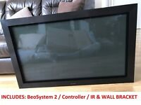 Bang & Olufsen B&O BeoVision 4 42 Plasma TV PLUS BeoSystem 2 & Wall Bracket