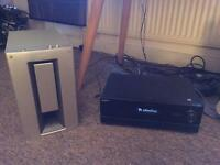 Sony 500w 7.1 surround sound amp/receiver and amp