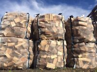 Logs - Bulk bags of seasoned firewood logs delivered throughout Perthshire, Angus and Fife