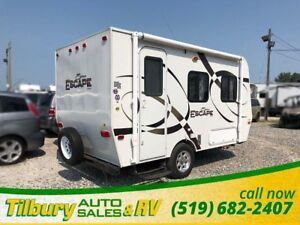 2011 KZ INC SPORTS SPREE ESCAPE M-14RB Mini Camper!