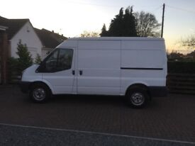 ford transit van fwd 2012 2.2 euro 5 125ps six speed 113.000 miles 11 months mot NO VAT
