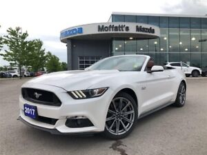 2017 Ford Mustang GT Premium GT PREMIUM 5.0L V8 CONVERTIBLE
