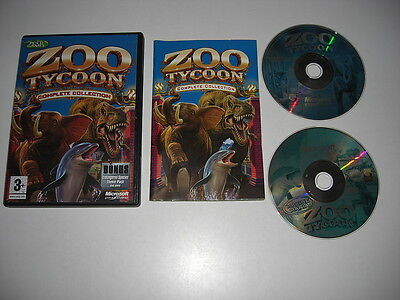 ZOO TYCOON 1 COMPLETE COLLECTION Pc Base Game + Dinosaur Digs & Marine Mania for sale  Shipping to South Africa