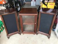 Hi fi and speaker cabinets