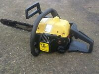 Mcculloch petrol chainsaw in good working order NEW CHAIN