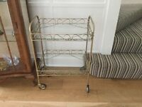 "Retro / Vintage Tea Trolley Excellent condition Measurements H28""/71cm W20""/51cm D14.5""/37cm"