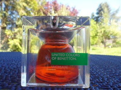 "United Colors of Benetton "" WOMAN ""  . Eau de Toilette . 40 ml . segunda mano  Embacar hacia Mexico"