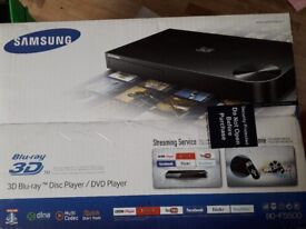 Blu-ray 3D disc player in sealed box unopened