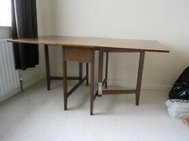 Drop-leaf Rectangular Dining Table