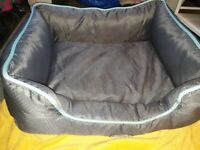 Dog Carrier Never Used and Bed