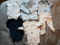Baby clothes bundle. 0-6 months. 8 items