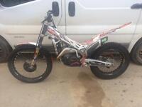 Trials bike beta evo 290 motorcycle