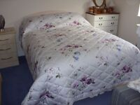 Dorma king size bed throw