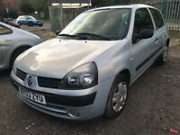 RENAULT CLIO EXPRESSION 16V 3 DOOR HATCHBACK 2003 03 PLATE
