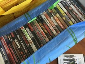 Due to moving we are selling our dvd collection over 250 in total.