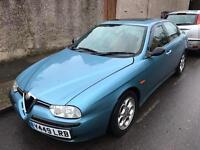2001 Alfa Romeo Manual Immaculate MOT. TAX. LEATHER