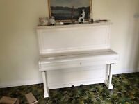 Upright Piano - free to a home (good or otherwise)