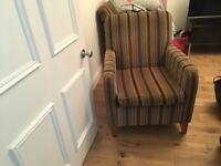 2 chairs ex marks and spencer . Good used condition from a smoke free home .