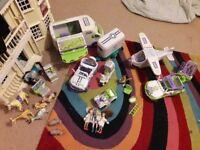 Animal Hospital toys. Box of.