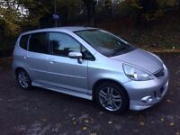 2005 Automatic Honda Jazz Sport 1.4 5 Doors Silver Full Stamped Service History