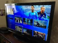 BLAUPUNKT 42 INCH 3D TV. DELIVERY OR COLLECTION