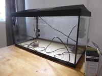 Aquarium plus accessories