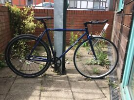 Quella Nero single speed/fixed gear bicycle 54cm frame