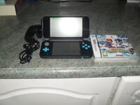 working nintendo 2DS XL with game