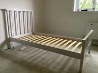 Single bed - wooden framed
