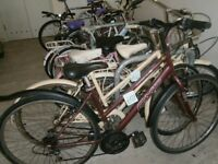 Bicycle, Bike, Used Second hand Mountain City bikes Town Bicycles all good working order