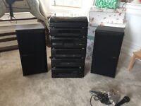 Kenwood 6 Stack Stereo System