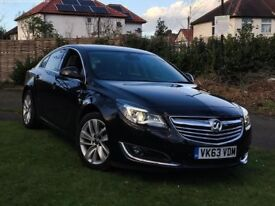 Vauxhall Insignia Elite 2013, Black, 38000 miles, Diesel, Manual.