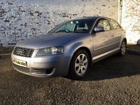 2003 AUDI A3 2.0 FSI SPECIAL EDITION *** FULL YEARS MOT *** similar to golf astra megane focus