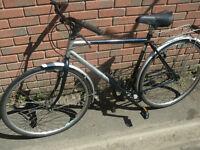 Douglas Gents Hybrid Bike